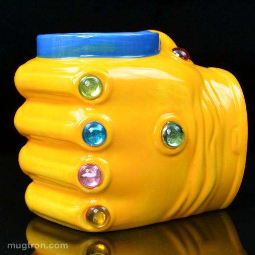 Thanos Infinity Gauntlet Molded Mug